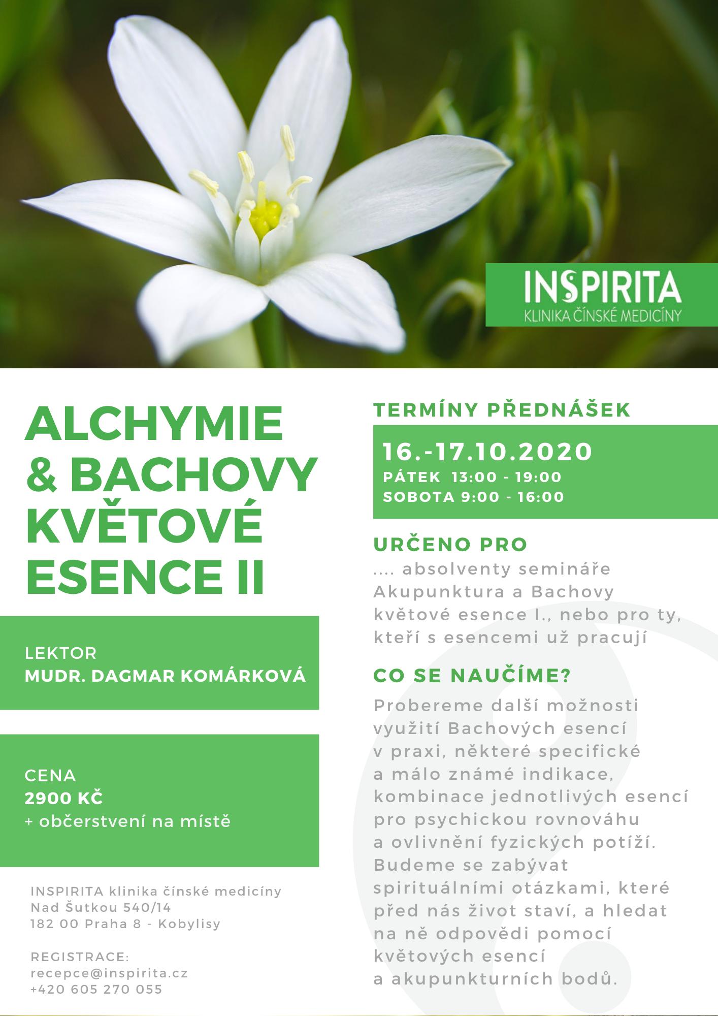 Alchymie a Bachovy květové esence II.