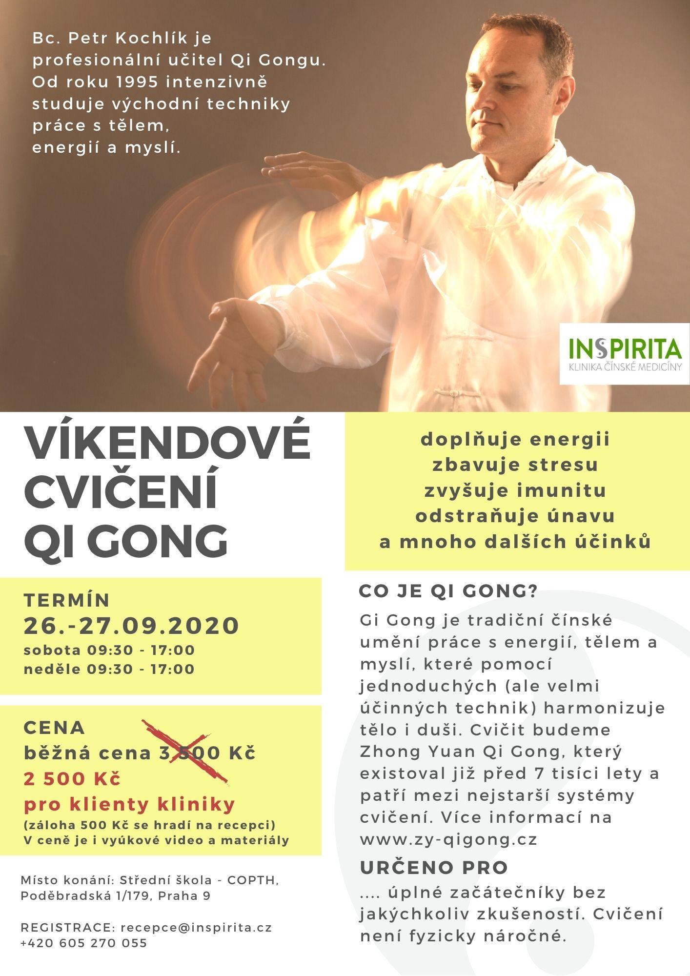 Qi Gong Petr Kochlík