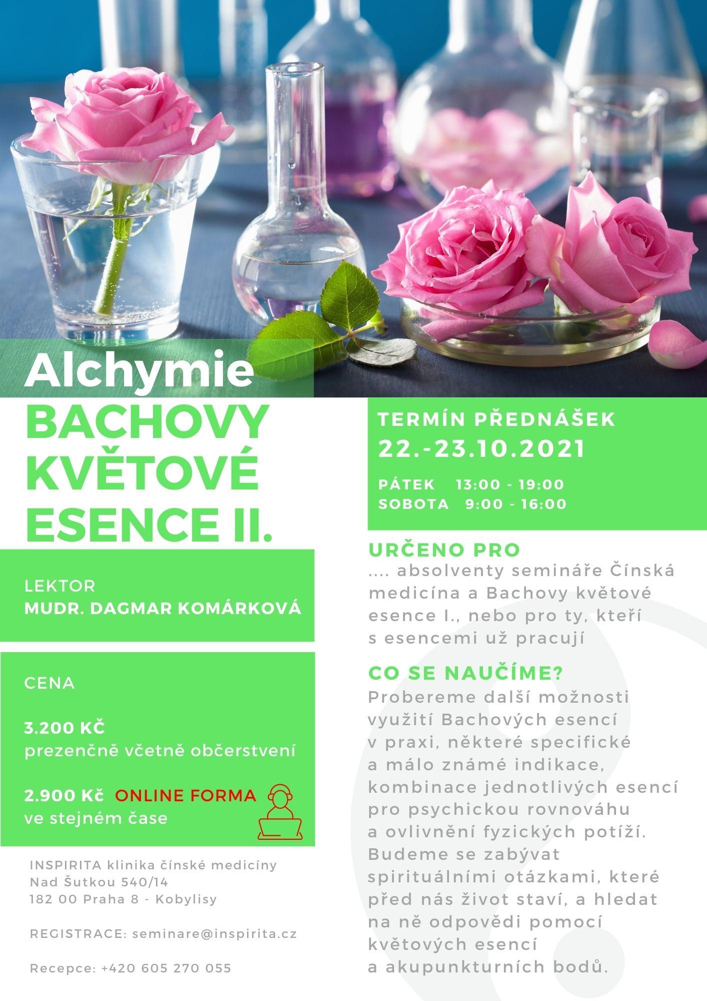 Alchymie a Bachovy esence